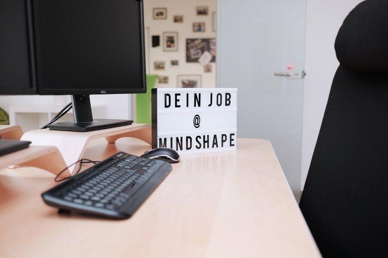 Internetagentur Bonn: Blick auf Arbeitsplatz