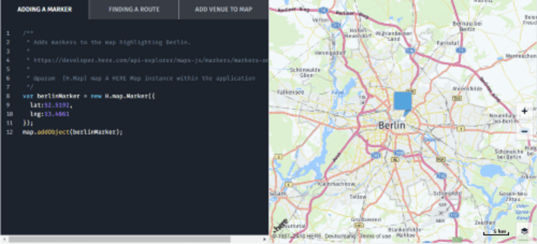 For Development Purposes only: Google Maps-Änderung