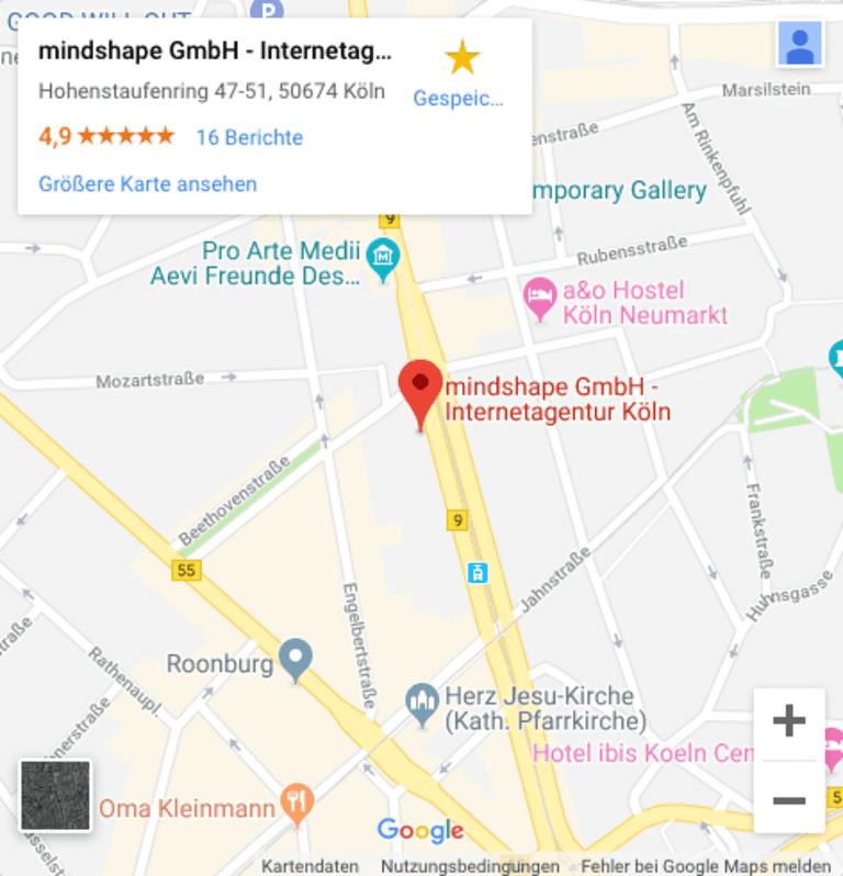 Mgoogle Map on