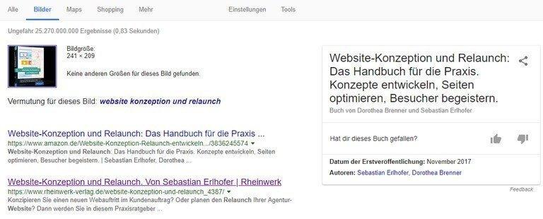Bilder-SEO: Bild-Deutung der Suchmaschine