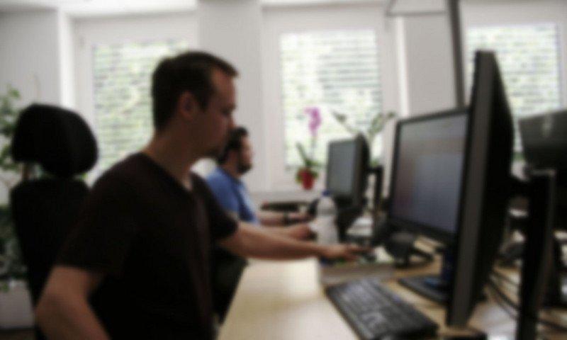 Mitarbeiter der SEO-Agentur