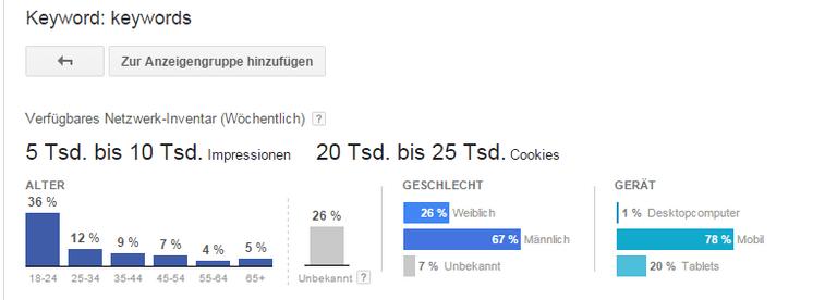 YouTube Keyword-Analyse: Schritt 8