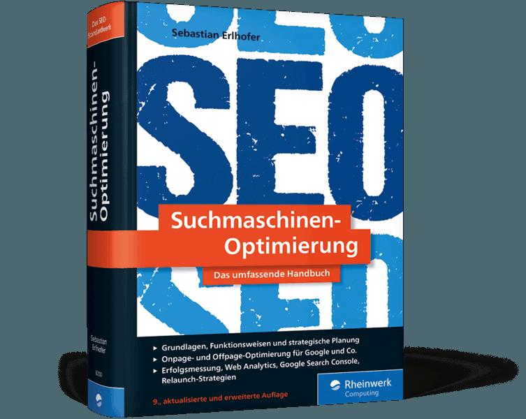 Suchmaschinen-Optimierung - Buchcover