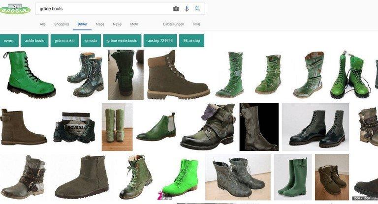 Bilder-SEO: Google Bildersuche