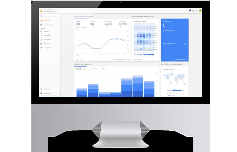 Webanalyse: Tracking mit Google Analytics